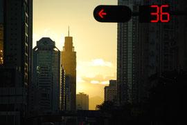 Aube à Shenzhen