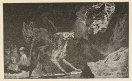 Raksha defying Shere Khan