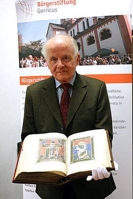 Professor Dr. Albrecht Graf Finckenstein von der Heinrich-Heine-Universität Düsseldorf