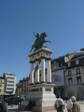 Place de la Jaude, statue de Vercingétorix
