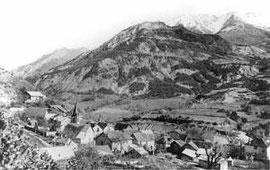 Le village d'Ubaye