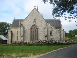 L'arrière de la chapelle St-Fiacre
