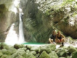 Wasserfall Kozjak