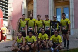 Parte del grupo en Castellón