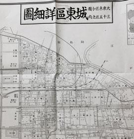 ●大東京区分図三十五区之内城東区詳細図