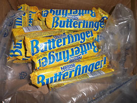 Butterfingers!! The USA comes to Amandola.