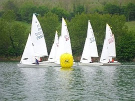 The regatta in 2011 on San Ruffino lake.