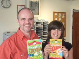 Steve & ACE illustrator Kate Pankhurst