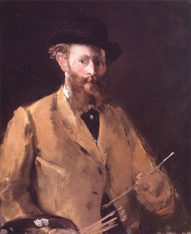 Manet, autoportait