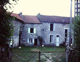 la ferme des Ânes de Vassivière en 1972