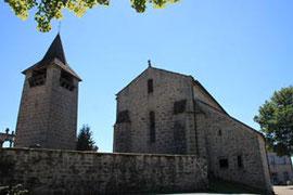 église à vassivière