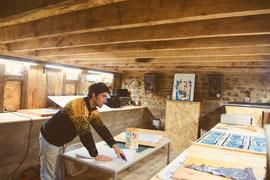résidence artistique en Limousin