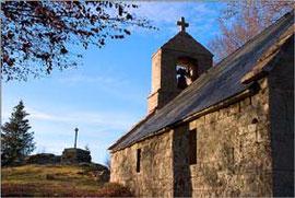 église proche de la ferme des ânes