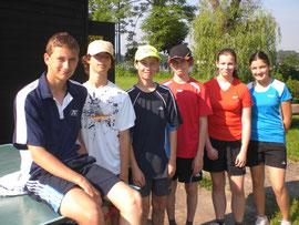 2.Platz bei den Wr. Schul-Tennismeisterschaften
