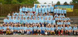 Die Teilnehmer des Camps 2013