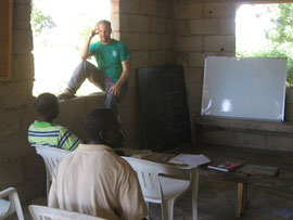 Eric teaching in the DTS at YWAM Maiduguri