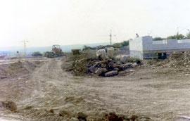 "Foto: P. Karl, Osloer Straße 1972 im ""Rohbau"""