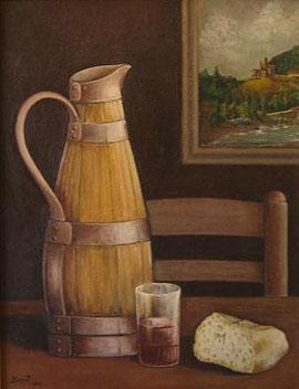 El pa i el vi. Parador Torla