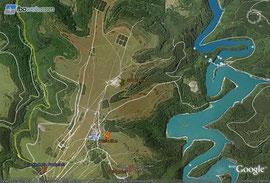 Übersichtskarte Nationalpark Eifel