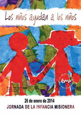Cartel Infancia Misionera 2014