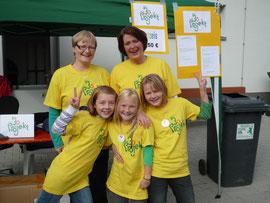 Die Helfer vor Ort (v.l.n.r.): Andrea, Kirsten, Lena, Anja, Vera
