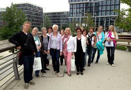 Das RUN auf Tour durch die Hafencity mit Stadtplaner Jan-Philipp Schmedemann