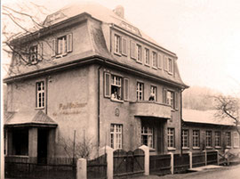 Ab 1913 - Wohnhaus & Firmensitz in der Altenberger Straße 36
