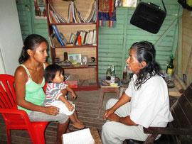 Der Susto, Tabakritual für Kinder vom Schamanen Marcelo Vargas