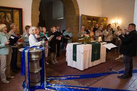Chorauftrritt 2018 Niedernissa