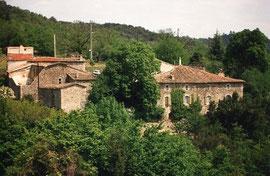 Les Granges, La Clède et le Grand Mas en 1993