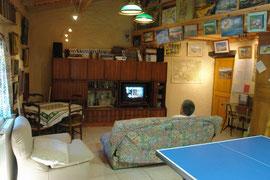La grange coté Télévision