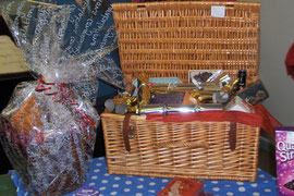 A couple of the wonderful tombola prizes this year