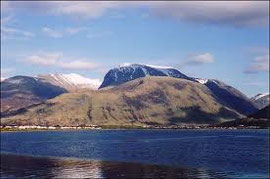 Ben Nevis en Fort William