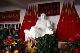 Voorzitter Mao Zedong