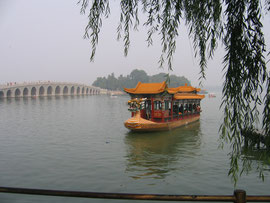 Drakenboot op het Kunmingmeer