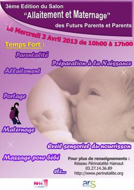 salon allaitement et maternage 2013