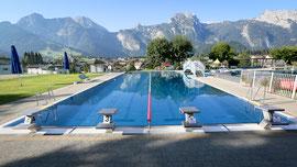 Sportbecken im Erlebnisbad Abtenau