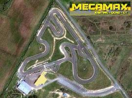 Circuit de 850m de long.