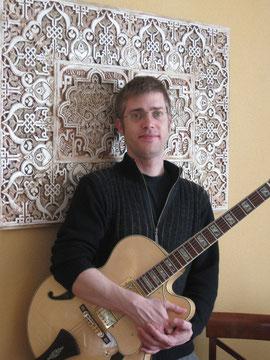 Nacho Reig, profesor de guitarra, Escuela de musica Guadalajara