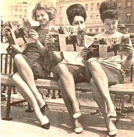 """""""Die Zeit und wir"""" Leserinnen im Wien der 1960er Jahre."""