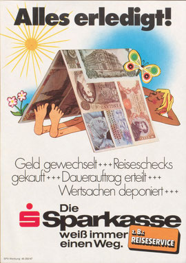 national prize for advertising 1976. poster by heinz traimer