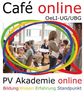 Video Café als Diskussionsforum der  Österreichischen Lehrer*innen Initiative ÖLI-UG und Unabhängigen Bildungsgewerkschaft UBG   Bild:spagra