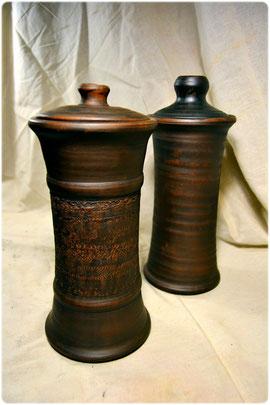 Глиняная посуда для хранения