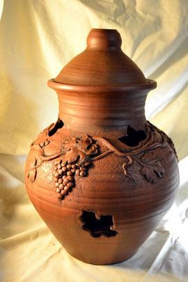 Глиняная посуда для хранения овощей