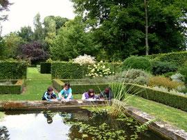 Bassin jardins somme picardie