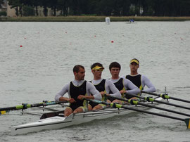 4x SH, Quentin SORIGUE, Thibault LECOMTE, Quentin PIERRE, Lucas LENHARD, terminent 3ème de la finale B