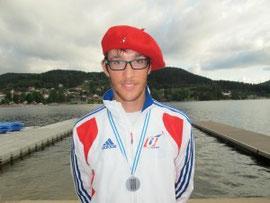 Thibault LECOMTE Vice-champion du monde - 23 ans