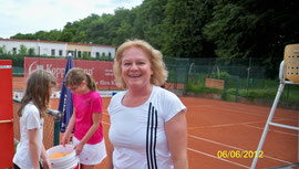 Trainer Sabine Stocker Tennisschule Jarda