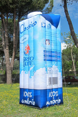 Inflatable Tetra Brik Milk 5mH