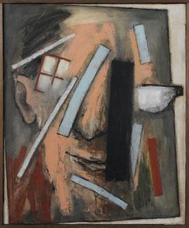 "Mino Ceretti, ""Ego"", 2012, olio su tela, 73 x 60 cm"